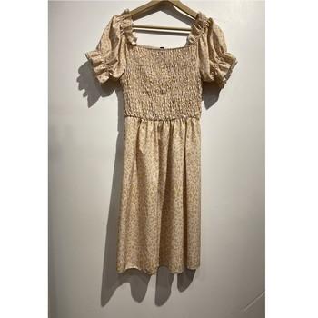 Clothing Women Short Dresses Fashion brands 53176-BEIGE Beige