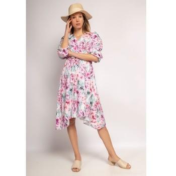 Clothing Women Short Dresses Fashion brands 9471-ROSE Pink