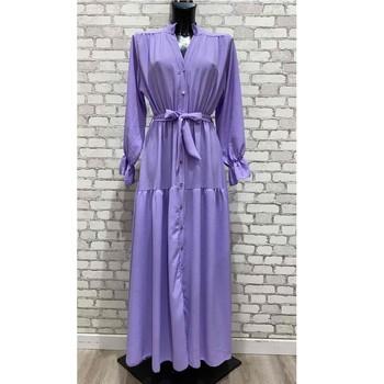 Clothing Women Short Dresses Fashion brands 2155-LILAS Lilac