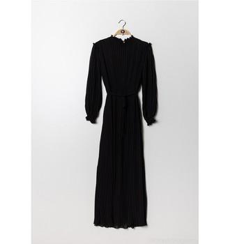 Clothing Women Long Dresses Fashion brands 9805-NOIR Black