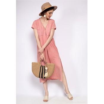 Clothing Women Short Dresses Fashion brands 6658-CORAIL Coral
