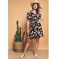 Clothing Women Short Dresses Fashion brands 2145A-NOIR Black
