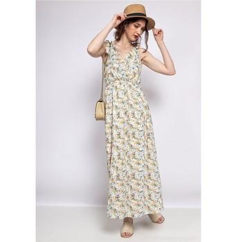 Clothing Women Short Dresses Fashion brands R182-BEIGE Beige