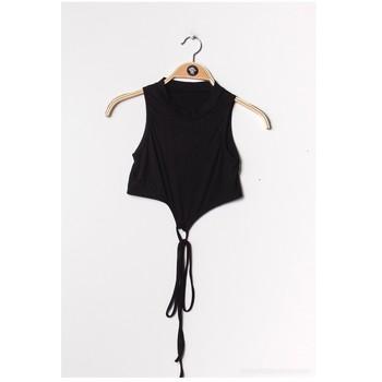 Clothing Women Tops / Blouses Fashion brands FR070-BLACK Black