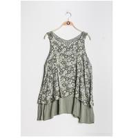 Clothing Women Tops / Blouses Fashion brands 9673-KAKI Kaki