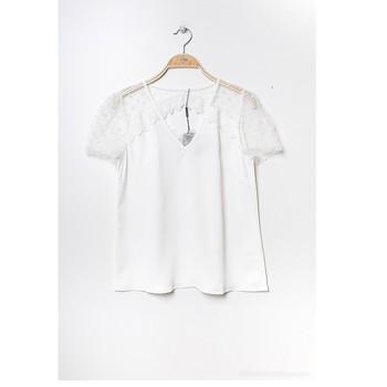 Clothing Women Tops / Blouses Fashion brands K5518-WHITE White