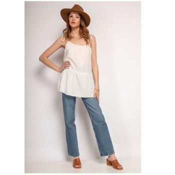 Clothing Women Tops / Blouses Fashion brands 490-WHITE White