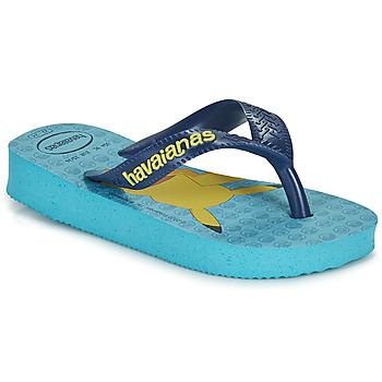 Shoes Boy Flip flops Havaianas KIDS TOP POKEMON Blue