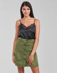 Clothing Women Tops / Blouses Moony Mood PABZAC Black
