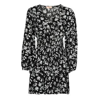 Clothing Women Short Dresses Moony Mood PAPIS Black / White