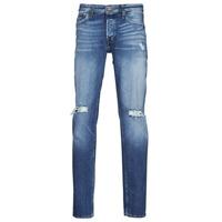 Clothing Men Slim jeans Jack & Jones JJITIM JJORIGINAL Blue / Medium