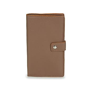 Bags Men Wallets Casual Attitude  Brown