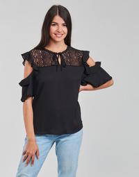 Clothing Women Tops / Blouses Moony Mood PIPAS Black
