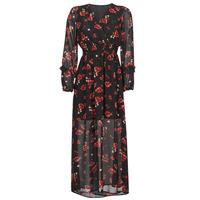 Clothing Women Long Dresses Moony Mood PILAF Black / Red