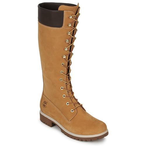 Shoes Women High boots Timberland WOMEN'S PREMIUM 14IN WP BOOT Cognac
