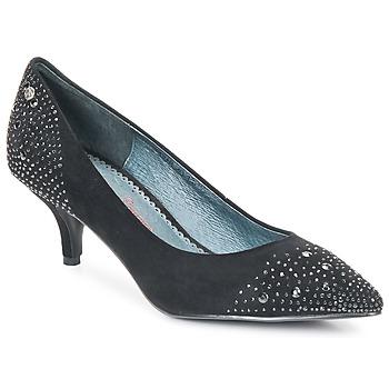 Shoes Women Heels Couleur Pourpre FADILE Black