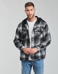 Clothing Men Jackets Yurban  Black / Grey
