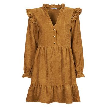 Clothing Women Short Dresses Betty London PRIXOUTE Camel