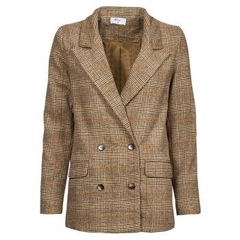 Clothing Women Jackets / Blazers Betty London PANOPI Brown