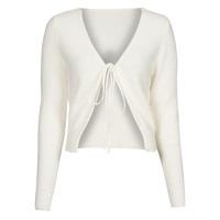 Clothing Women Jackets / Cardigans Yurban  White