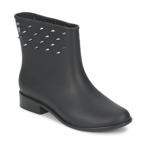 Shoes Women Mid boots Melissa MOON DUST SPIKE Black