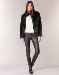 Clothing Women 5-pocket trousers Vero Moda SEVEN Black