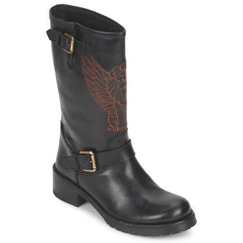 Shoes Women Mid boots Pastelle ANGEL Black
