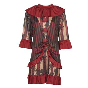 Clothing Women Fancy Dress Fun Costumes COSTUME ADULTE CLOWNETTE DE MINUIT Multicolour