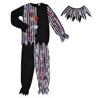 Clothing Boy Fancy Dress Fun Costumes COSTUME ENFANT BLOODY CLOWN Multicolour