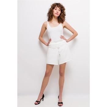 Clothing Women Shorts / Bermudas Fashion brands  White