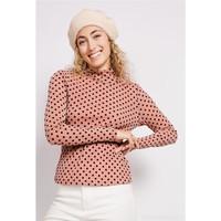 Clothing Women Long sleeved tee-shirts Fashion brands  Pink