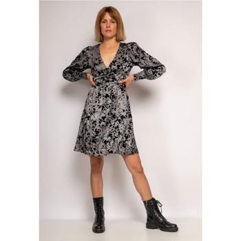 Clothing Women Short Dresses Fashion brands  Grey