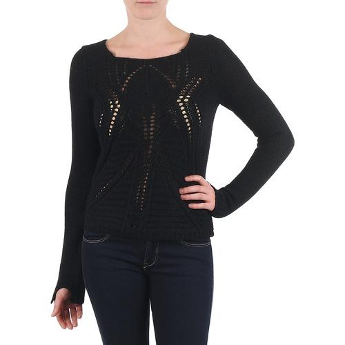Clothing Women jumpers Antik Batik LACE Black