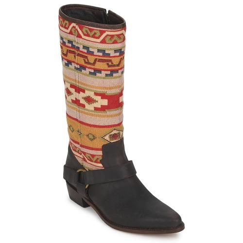 Shoes Women High boots Sancho Boots CROSTA TIBUR GAVA Marron red