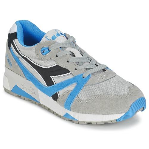 Shoes Low top trainers Diadora N9000  NYL Grey / Blue / Black