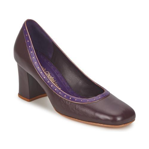 Shoes Women Heels Sarah Chofakian SHOE HAT Brown