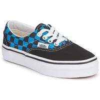 Shoes Children Low top trainers Vans ERA KIDS Black / Malibu blue