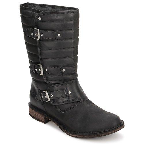 Shoes Women Mid boots UGG Australia TATUM  black