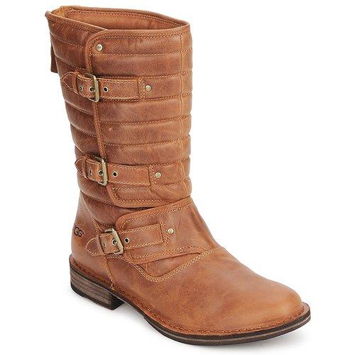 Shoes Women High boots UGG Australia TATUM Chestnut