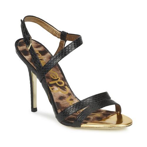 Shoes Women Sandals Sam Edelman ABBOTT  black / Snake