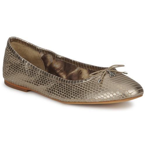 Shoes Women Flat shoes Sam Edelman FELICIA Light / Gold / Metallic / Snake