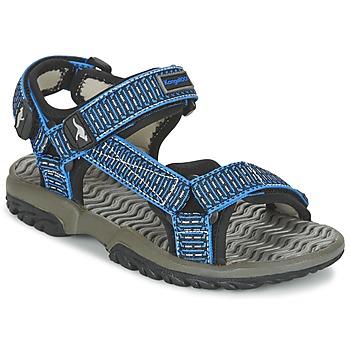 Shoes Boy Sandals Kangaroos KS 22 Blue