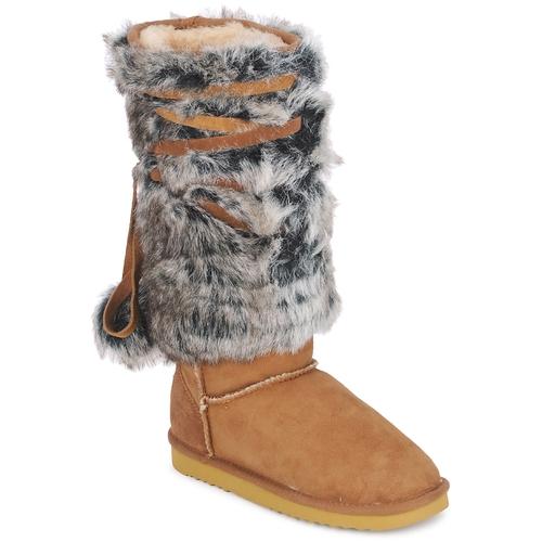 Shoes Women High boots Love From Australia YETI Caramel