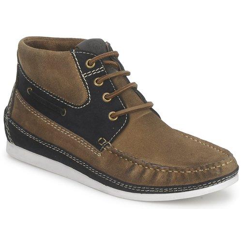 Shoes Men Hi top trainers Nicholas Deakins bolt Kaki