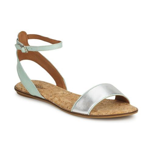 Shoes Women Sandals Lucky Brand COVELA Mint / Silver