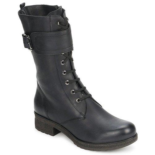 Shoes Women High boots Unisa Betroc HA  black