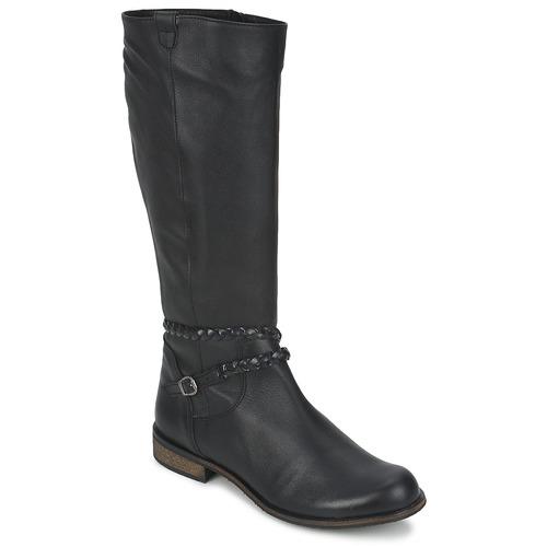 Shoes Women High boots So Size BERTOU Black