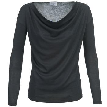 Clothing Women Long sleeved tee-shirts Casual Attitude DELINDA Black