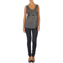Clothing Women slim jeans Diesel SKINZEE L.32 TROUSERS Blue