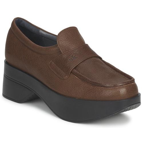 Shoes Women Loafers Stéphane Kelian EVA Brown